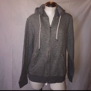 Club Monaco - zip up sweatshirt w hoody